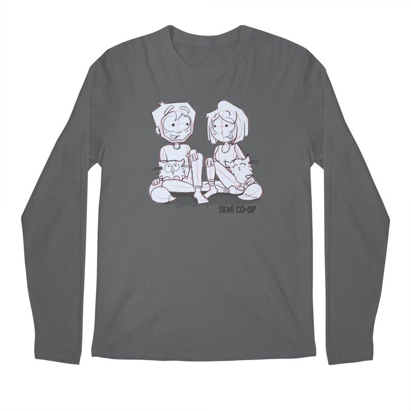 Sketchy Men's Longsleeve T-Shirt by Semi Co-op