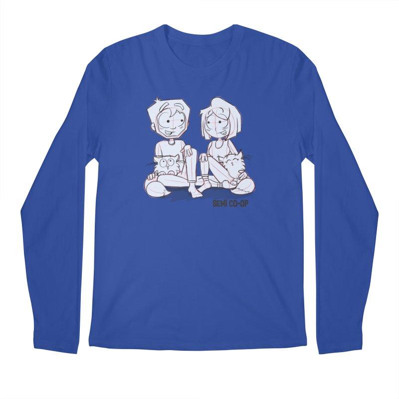 Sketchy Men's Regular Longsleeve T-Shirt by Semi Co-op