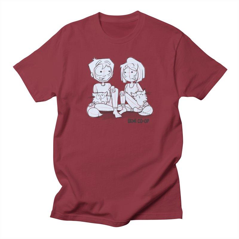 Sketchy Men's Regular T-Shirt by Semi Co-op