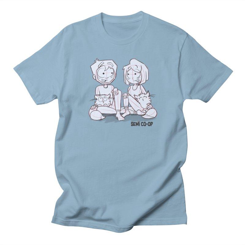 Sketchy Women's Regular Unisex T-Shirt by Semi Co-op