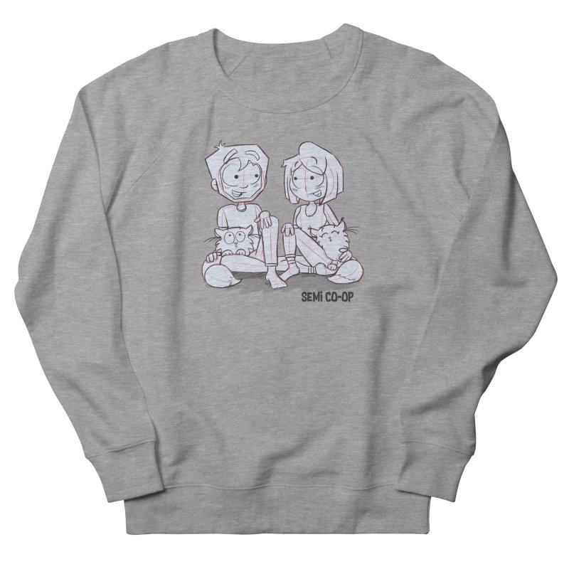 Sketchy Women's French Terry Sweatshirt by Semi Co-op