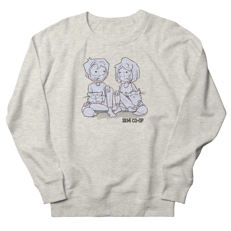 Sketchy Women's French Terry Sweatshirt by Semi Co-op
