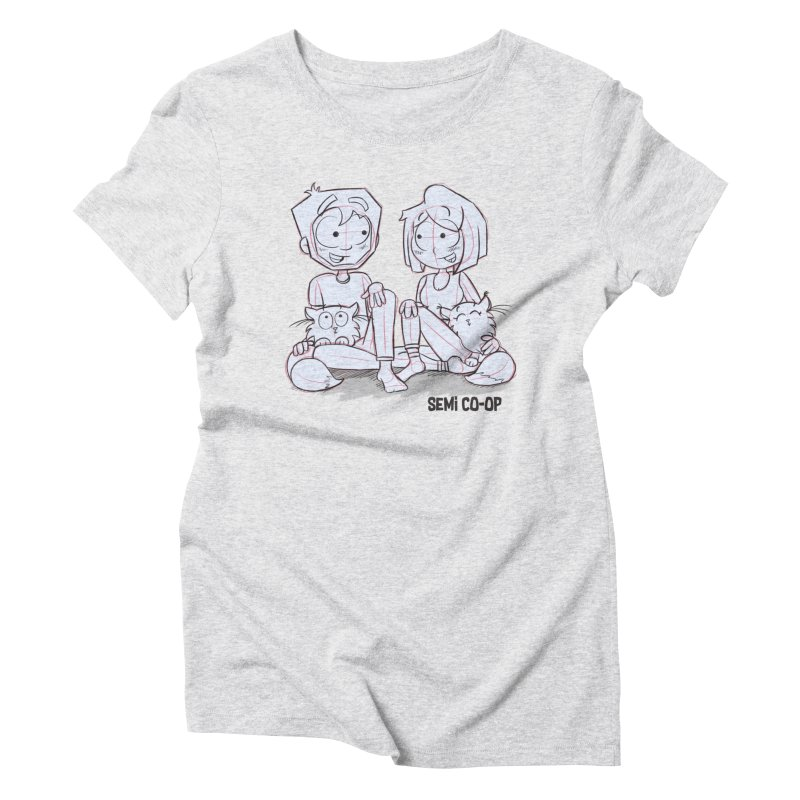 Sketchy Women's T-Shirt by Semi Co-op