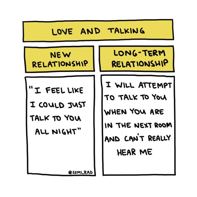 Love And Talking by Semi-Rad's Artist Shop