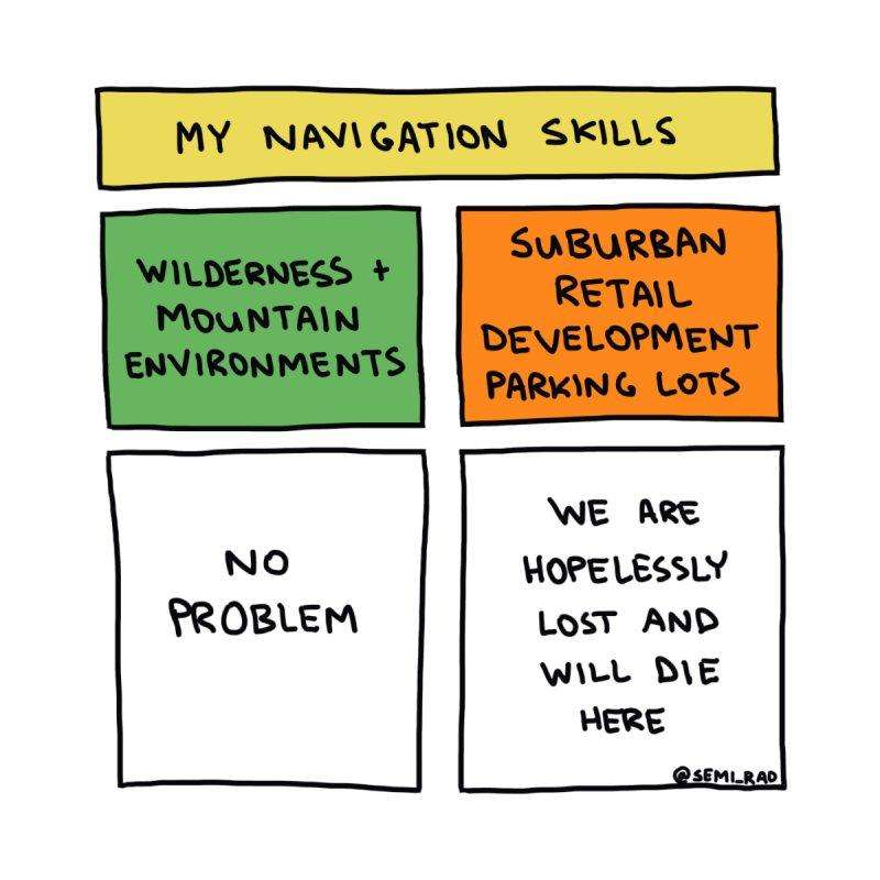 My Navigation Skills by Semi-Rad's Artist Shop