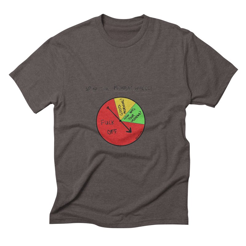 Spin The Monday Wheel   by Semi-Rad's Artist Shop