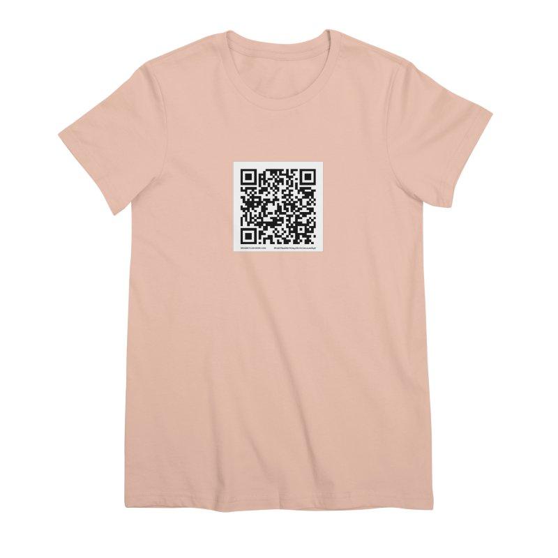 Send Bitcoin Here™ Women's Premium T-Shirt by Send Bitcoin Here™