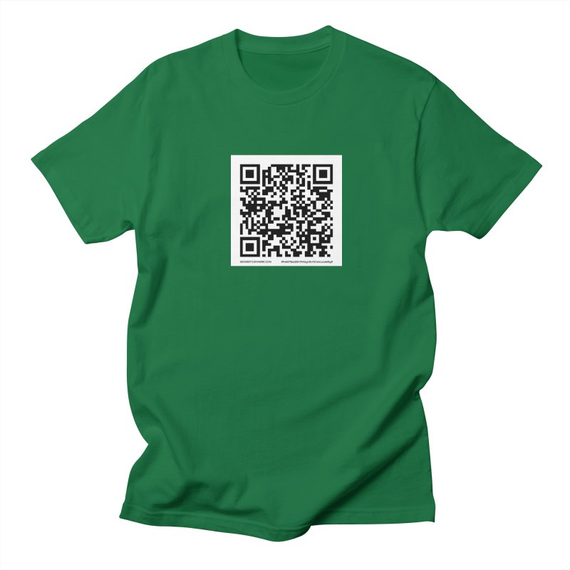 Send Bitcoin Here™ Men's Regular T-Shirt by Send Bitcoin Here™