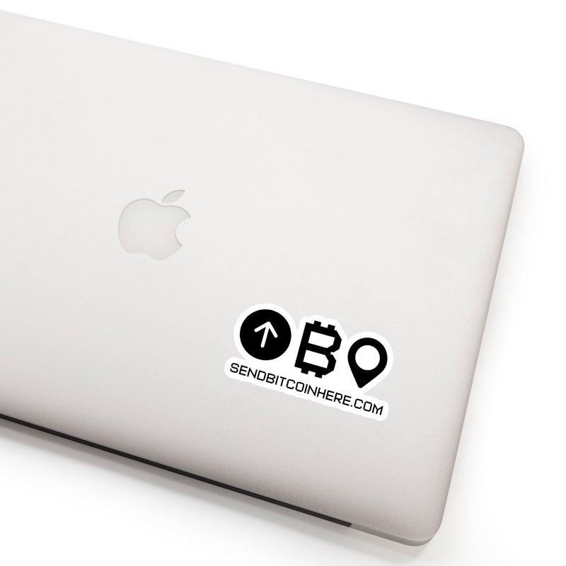 Send Bitcoin Here™ Accessories Sticker by Send Bitcoin Here™