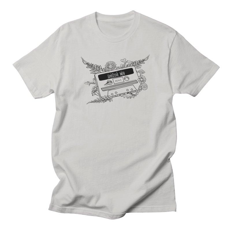 Casette Tap (Black) Women's Regular Unisex T-Shirt by sensitivemen's Artist Shop
