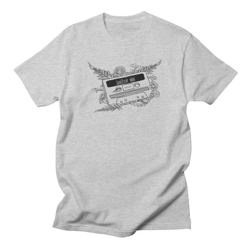 Casette Tap (Black) Men's T-Shirt by sensitivemen's Artist Shop