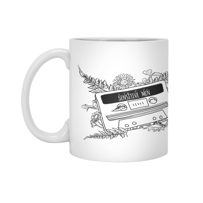 Casette Tap (Black) Accessories Mug by sensitivemen's Artist Shop