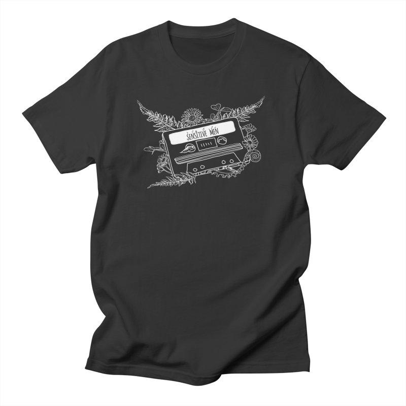Casette Tape (White) Women's T-Shirt by sensitivemen's Artist Shop