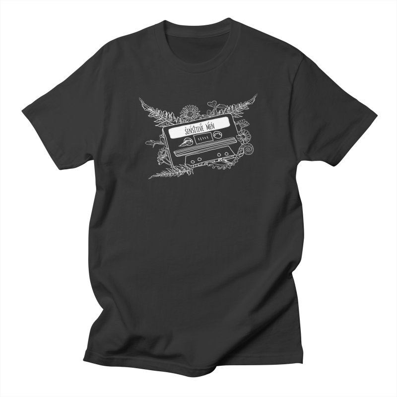 Casette Tape (White) Women's Regular Unisex T-Shirt by sensitivemen's Artist Shop
