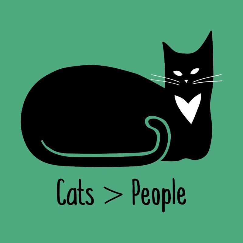 Cats > People Women's Sweatshirt by Serenikitty's Artist Shop