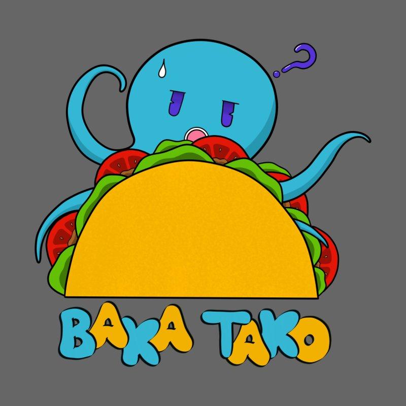 Baka Tako (Silly Octopus) Kids T-Shirt by Serferis's Shop