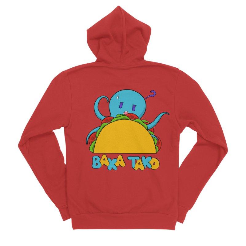 Baka Tako (Silly Octopus) Women's Zip-Up Hoody by Serferis's Shop