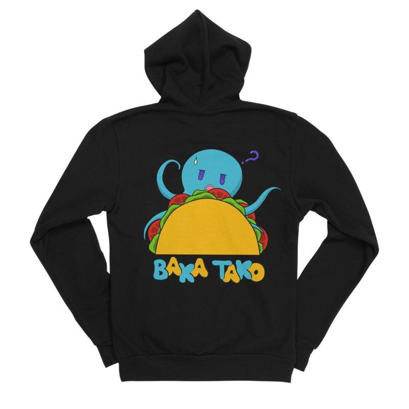 Baka Tako (Silly Octopus) Men's Zip-Up Hoody by Serferis's Shop