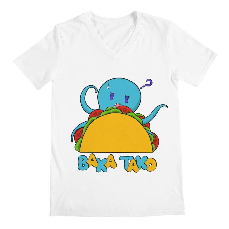 Baka Tako (Silly Octopus) Men's V-Neck by Serferis's Shop