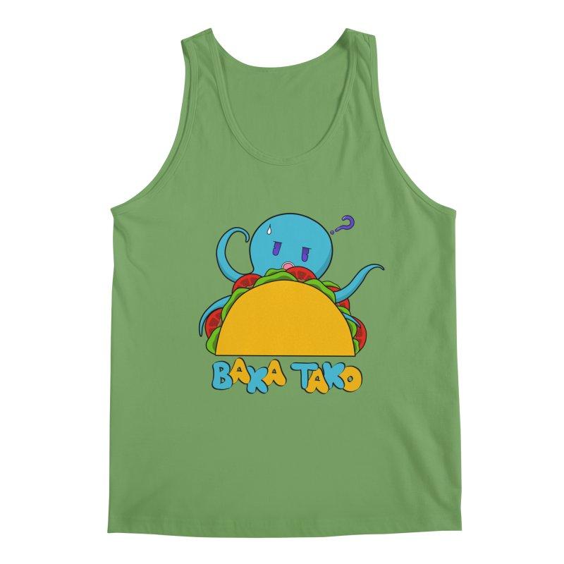Baka Tako (Silly Octopus) Men's Tank by Serferis's Shop