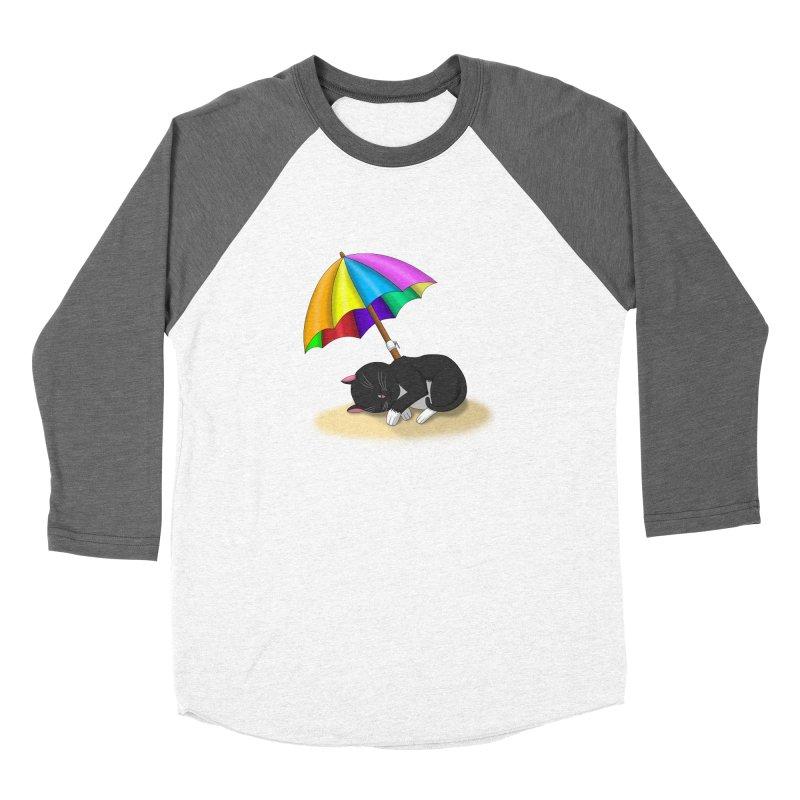 Beach Cat Women's Longsleeve T-Shirt by Serferis's Shop