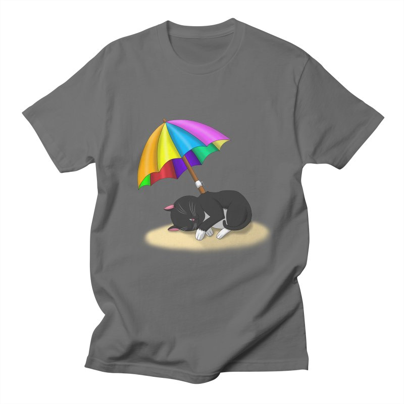Beach Cat Men's T-Shirt by Serferis's Shop