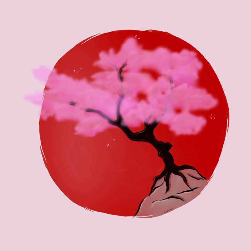 Sakura Sunrise Kids Baby Zip-Up Hoody by Serferis's Shop