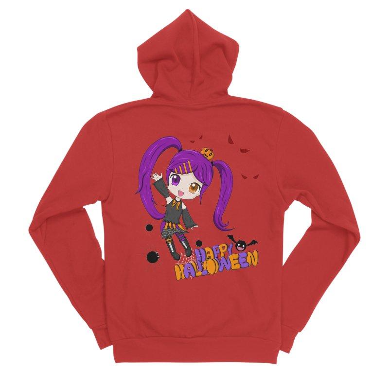 Happy Halloween Women's Zip-Up Hoody by Serferis's Shop