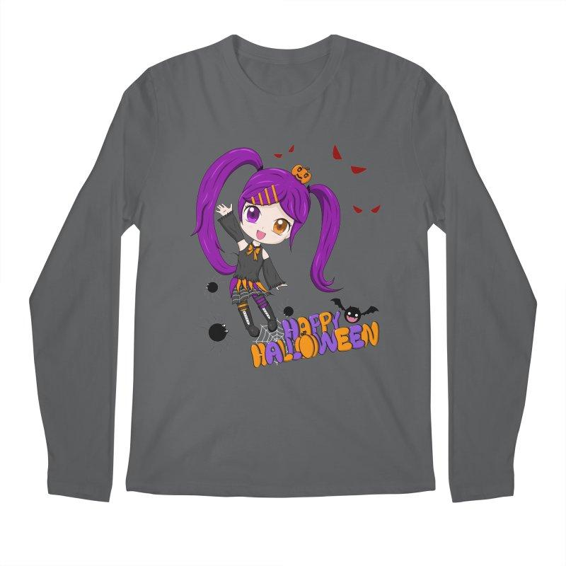 Happy Halloween Men's Longsleeve T-Shirt by Serferis's Shop