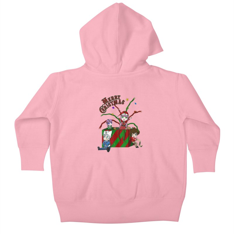 Helper Elves Kids Baby Zip-Up Hoody by Serferis's Shop