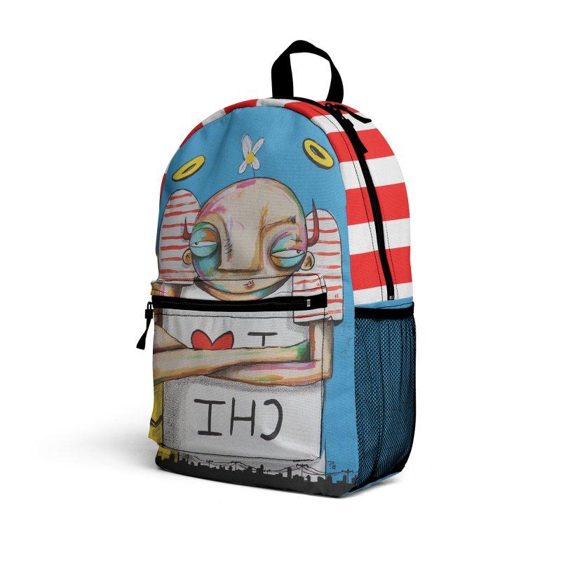 I <3 CHI Accessories Bag by FARFAN STUDIOS