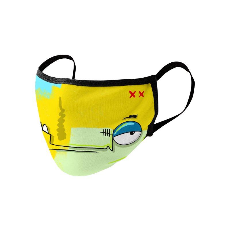 XX Accessories Face Mask by FARFAN STUDIOS