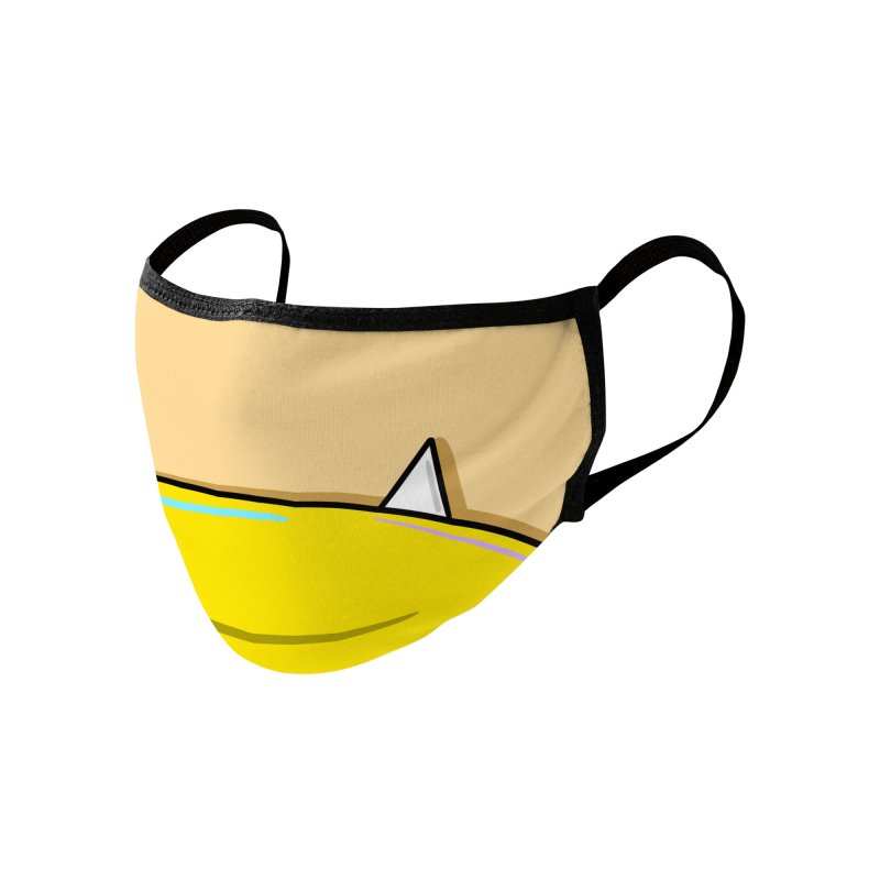 One Tooth Accessories Face Mask by FARFAN STUDIOS