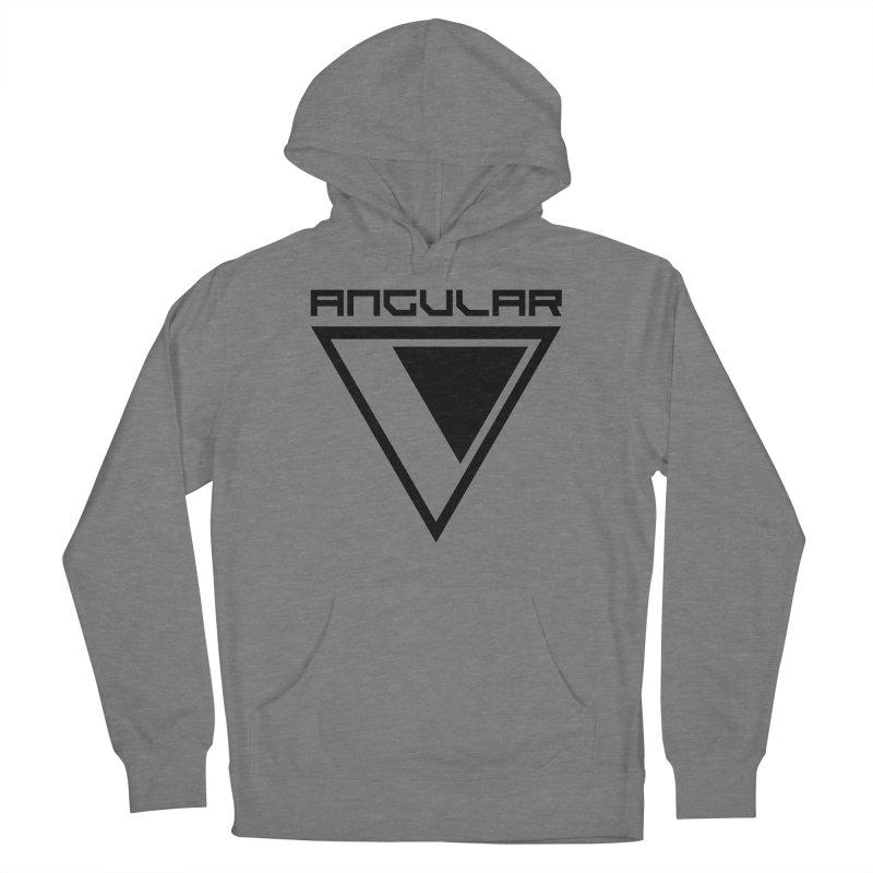 Angular Logo Black Women's Pullover Hoody by Sergio Seabra's Shop