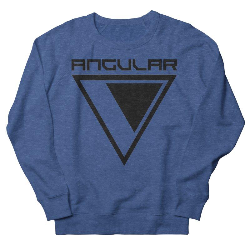 Angular Logo Black Women's Sweatshirt by Sergio Seabra's Shop
