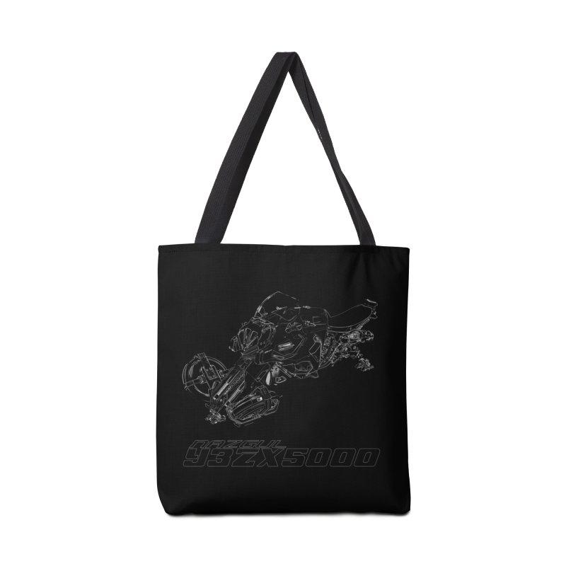 Nazgul Hoverbike White Accessories Bag by Sergio Seabra's Shop
