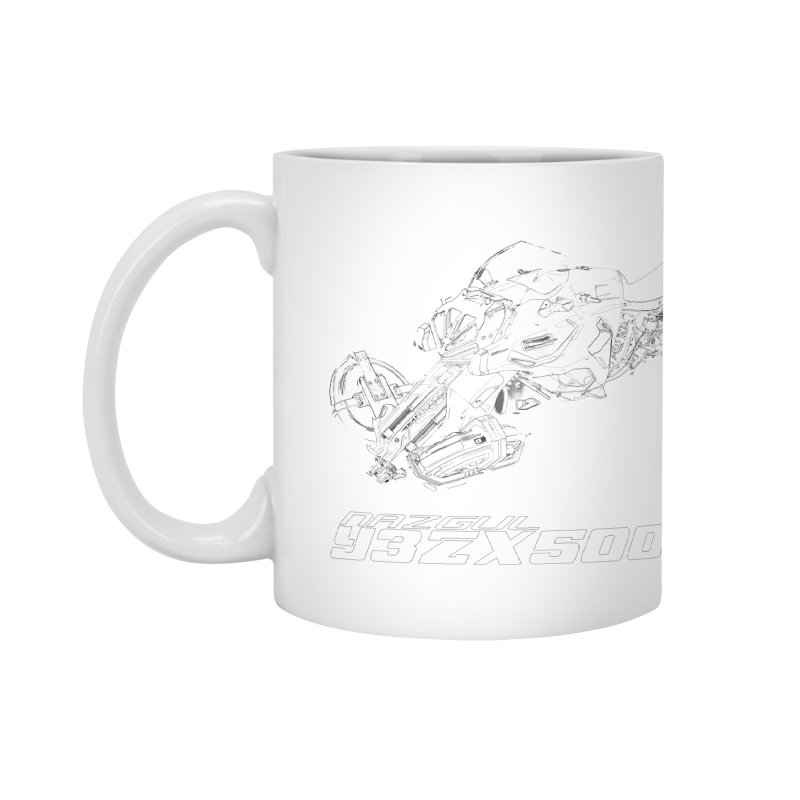 Nazgul Hoverbike Black Accessories Mug by Sergio Seabra's Shop
