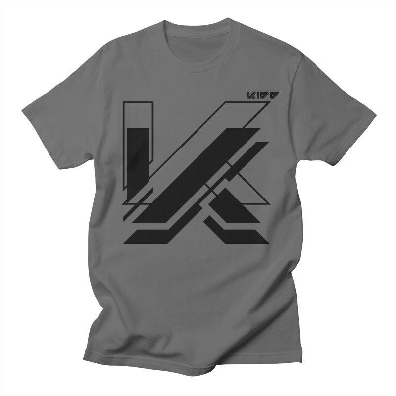 KIDD Logo Black Men's T-Shirt by Sergio Seabra's Shop