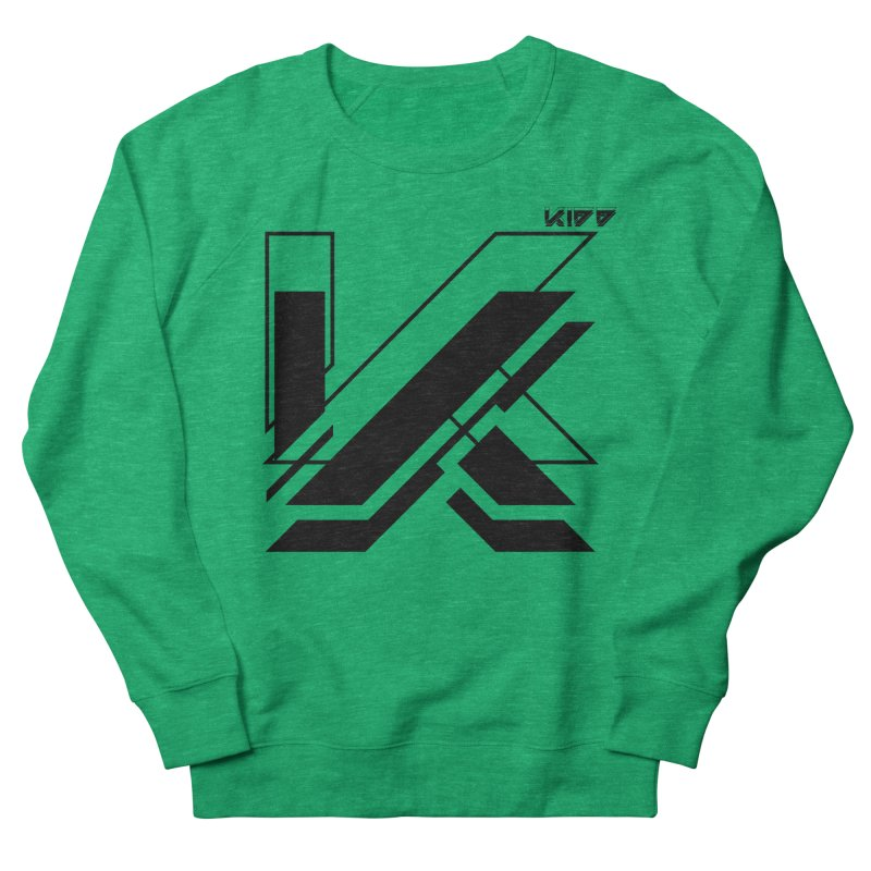 KIDD Logo Black Women's Sweatshirt by Sergio Seabra's Shop