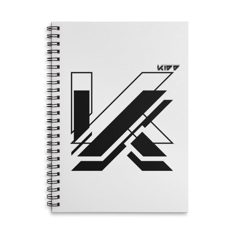 KIDD Logo Black Accessories Notebook by Sergio Seabra's Shop
