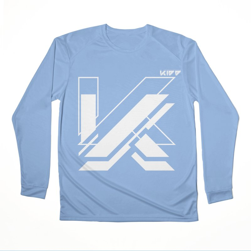 KIDD Logo White Men's Longsleeve T-Shirt by Sergio Seabra's Shop