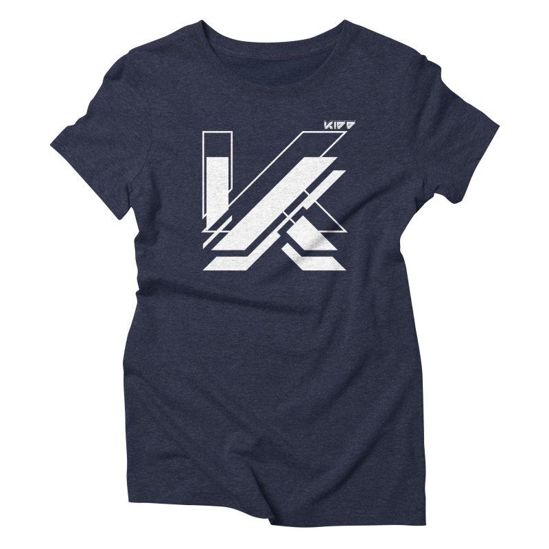 KIDD Logo White Women's T-Shirt by Sergio Seabra's Shop