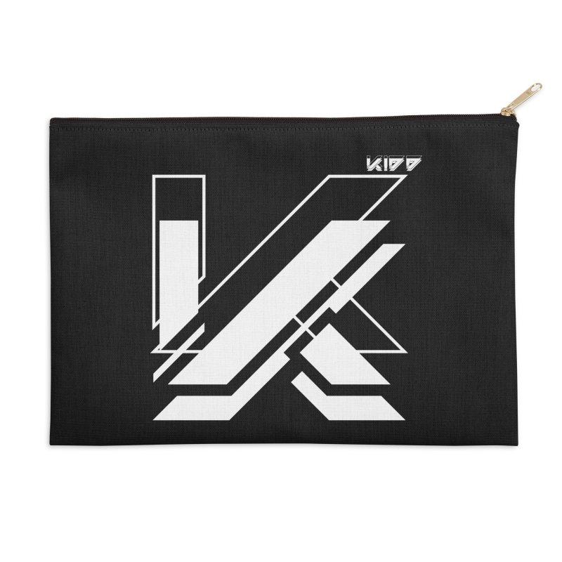 KIDD Logo White Accessories Zip Pouch by Sergio Seabra's Shop
