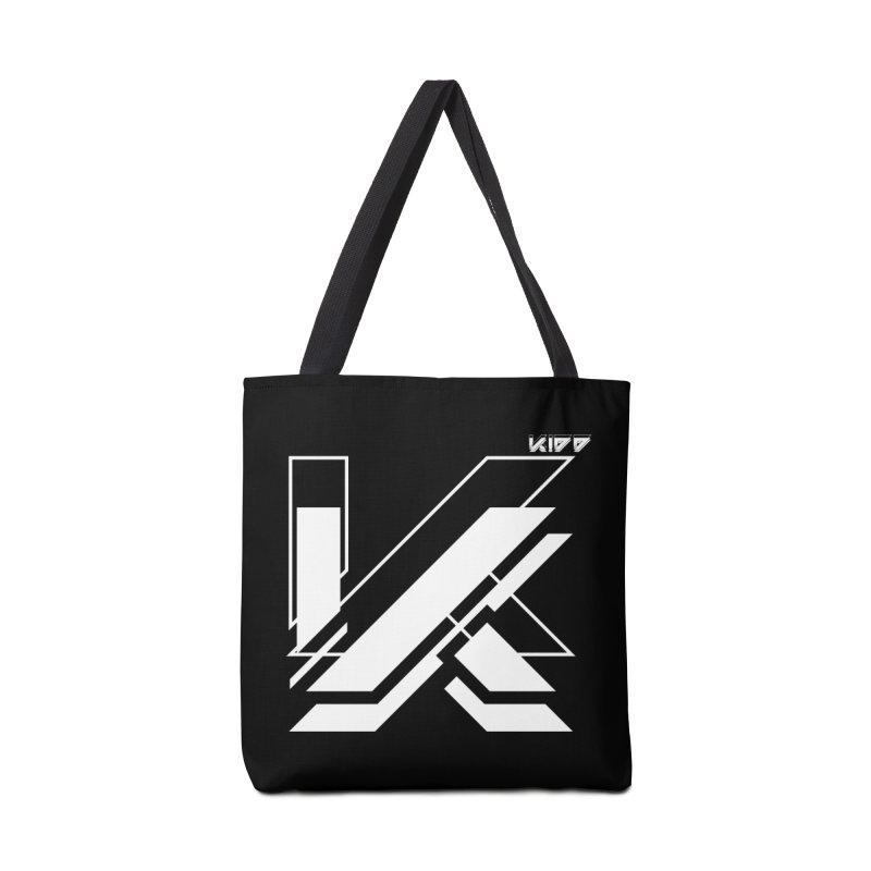 KIDD Logo White Accessories Bag by Sergio Seabra's Shop