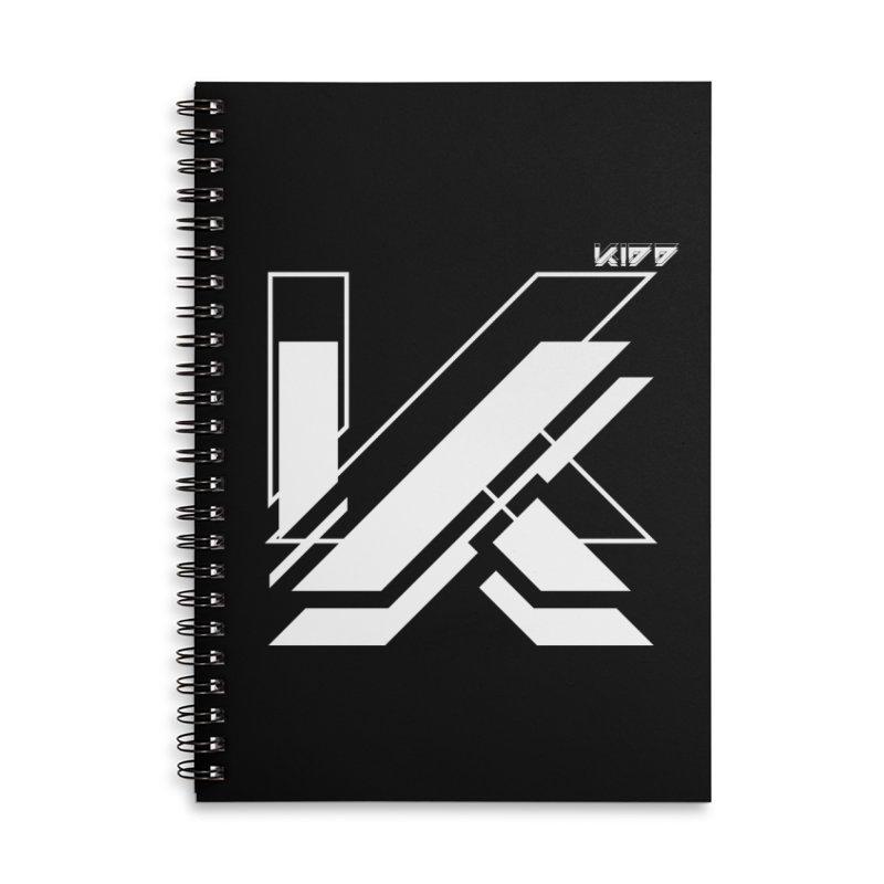 KIDD Logo White Accessories Notebook by Sergio Seabra's Shop