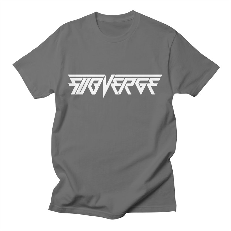 SUBVERGE Logo White Men's T-Shirt by Sergio Seabra's Shop
