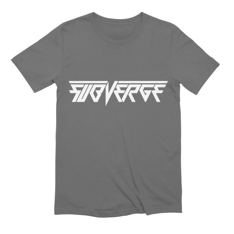 SUBVERGE Logo White Men's T-Shirt by Sergio Seabra's Shop