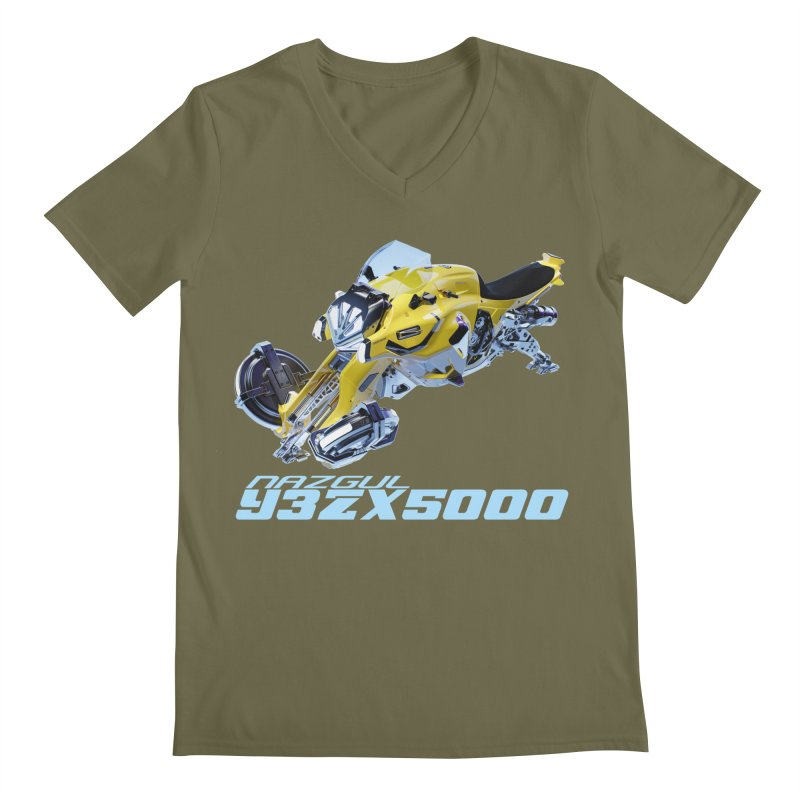 Nazgul Hoverbike Color Men's V-Neck by Sergio Seabra's Shop