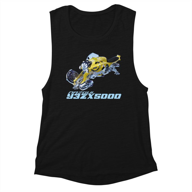 Nazgul Hoverbike Color Women's Tank by Sergio Seabra's Shop