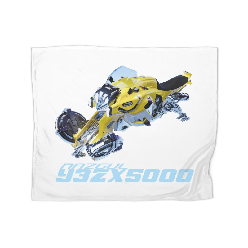 Nazgul Hoverbike Color Home Blanket by Sergio Seabra's Shop